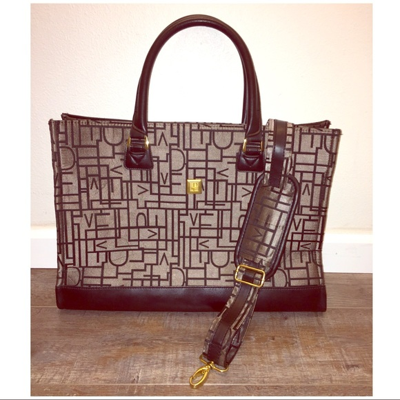 Diane Von Furstenberg Bags   Dvf Large Jacquard Tote With Strap ... e7e8cc6647